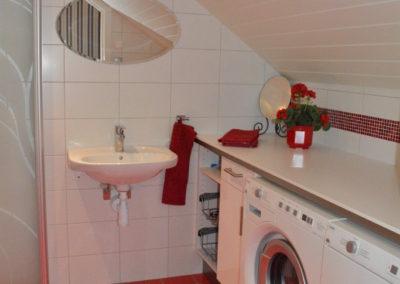 Modernt badrum & tvättstuga