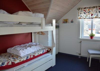 Ett av två sovrum